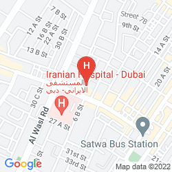 Map AL KHOORY EXECUTIVE HOTEL