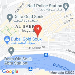 Map GRAND SINA HOTEL