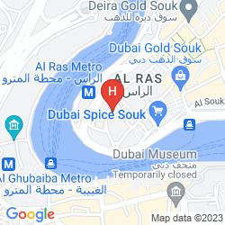 Map HAFEZ HOTEL APARTMENT