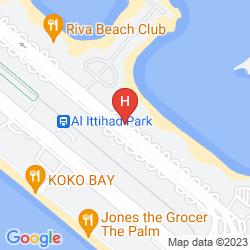 Map PALM JUMEIRAH SHORELINE RESIDENCES