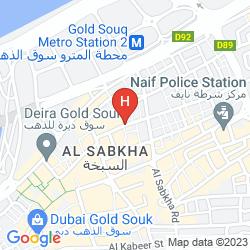 Map RAHAB HOTEL