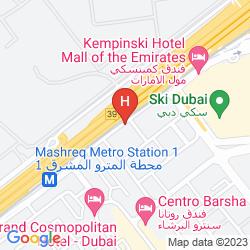 Map THE VIEW AL BARSHA HOTEL APARTMENTS