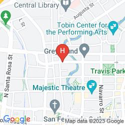 Map WYNDHAM SAN ANTONIO RIVERWALK