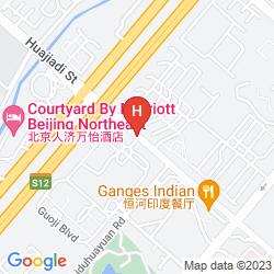 Map CROWNE PLAZA BEIJING LIDO
