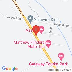 Map EL PASO MOTEL