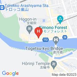 Map ARASHIYAMA BENKEI