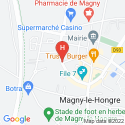 Map B&B HOTEL A DISNEYLAND PARIS