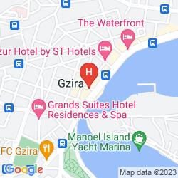 Map BLUBAY APARTMENTS