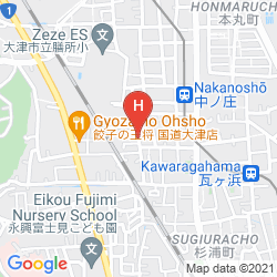 Map GUESTHOUSE AN