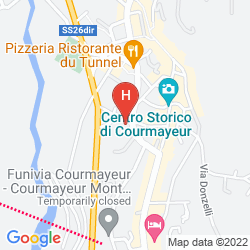 Map HOTEL LES JUMEAUX