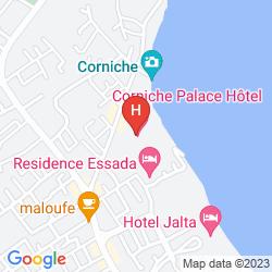 Map CORNICHE PALACE