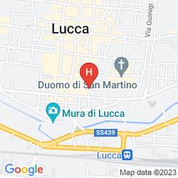 Map ALBERGO SAN MARTINO