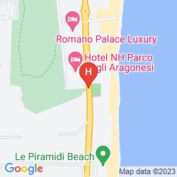 Map ROMANO PALACE LUXURY