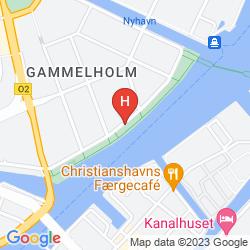 Map COPENHAGEN STRAND