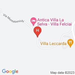 Map VILLA FABBRI