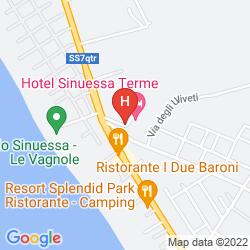Map SINUESSA