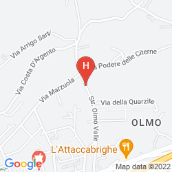 Map RELAIS DELL'OLMO