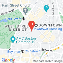 Map THE GODFREY HOTEL BOSTON