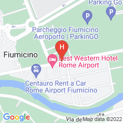 Map BEST WESTERN HOTEL ROME AIRPORT