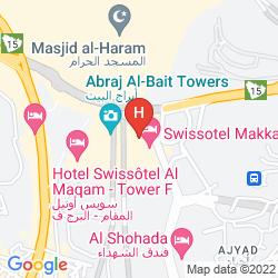 Map ROYAL DAR AL EIMAN HOTEL