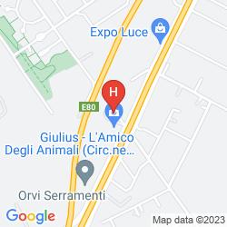 Map GIARDINO D'EUROPA