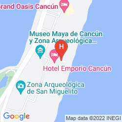 Map PARADISUS CANCUN