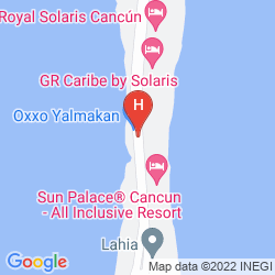 Map THE WESTIN RESORT & SPA CANCUN
