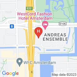 Map BASTION HOTEL AMSTERDAM-CENTRUM - ZUIDWEST