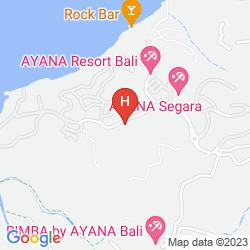 Map THE VILLAS AT AYANA RESORT