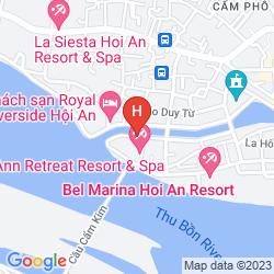 Map HOI AN RIVER TOWN
