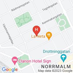 Map SCANDIC NORRA BANTORGET