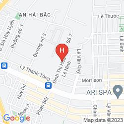 Map CARPE DIEM INN DA NANG