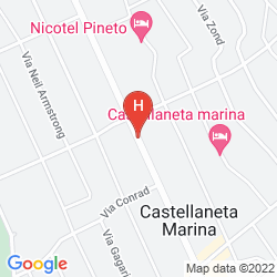 Map B&B VIALE DEI PINI