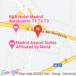 Map MADRID MARRIOTT AUDITORIUM HOTEL & CONFERENCE CENTER