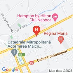 Map HOTEL CLUB RESIDENCE ROSCIANUM