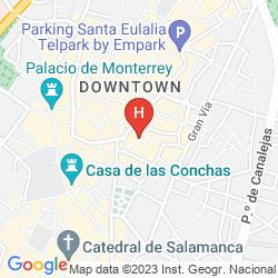 Map  SOHO BOUTIQUE SALAMANCA