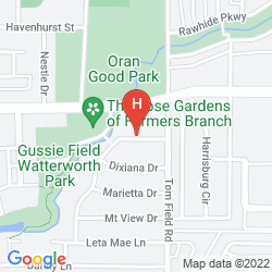 Map WYNDHAM GARDEN DALLAS NORTH