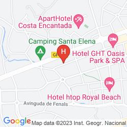 Map FENALS GARDEN