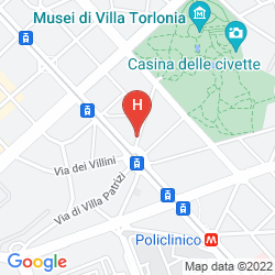 Map VILLA TORLONIA