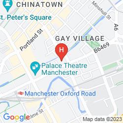 Map ATRIUM BY BRIDGESTREET