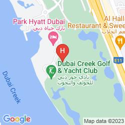 Map PARK HYATT DUBAI
