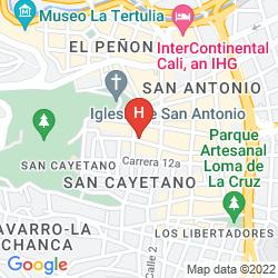 Map COLINA DE SAN ANTONIO