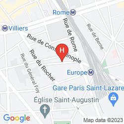 Map IDOL HOTEL PARIS