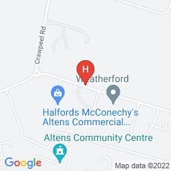 Map THE ABERDEEN ALTENS