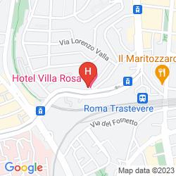 Map VILLA ROSA