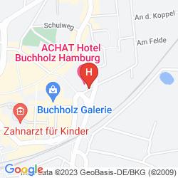 Map ACHAT PLAZA HAMBURG-BUCHHOLZ