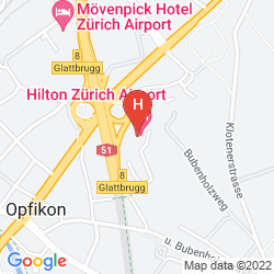 Map APART-HOTEL OPERATED BY HILTON