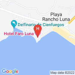 Map CASA LARABI, PLAYA RANCHO LUNA RESORT BEACH