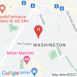 Map WASHINGTON