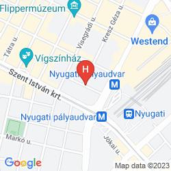 Map METRO BUDAPEST